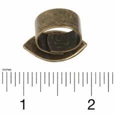 Michal Golan Evil Eye Turquoise adjustable  Ring