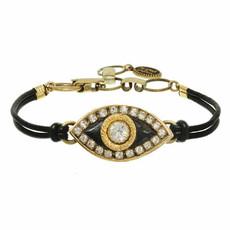 Michal Golan Evil Eye Black Eye Bracelet
