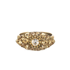 Michal Golan Dazzling Nude Small Eye Ring