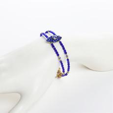 Michal Golan Dazzling Blue Eye Bracelet