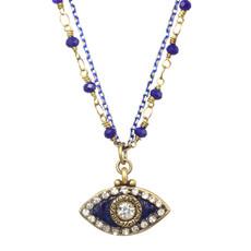 Michal Golan Midnight Blue Eye Necklace