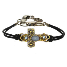 Michal Golan Small sky crystals cross Bracelets