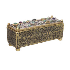 Michal Golan Gemstone Judaica Jewelry Box