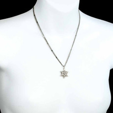 Michal Golan Medium silver star of david pendant
