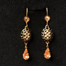 Michal Negrin Oval Earrings