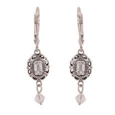 Michal Negrin New York Silver 925 Dangle Earrings