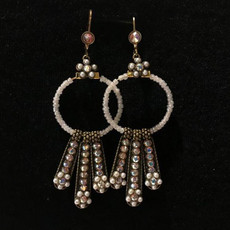 Michal Negrin Blinda Crystal Earrings