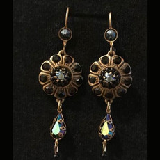 Michal Negrin Select Flower Hook Earrings