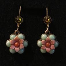 Michal Negrin Flower Dangling Earrings