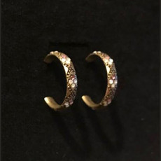 Michal Negrin Small Hoop Earrings