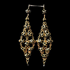 Michal Negrin Queen of Sheba Earrings