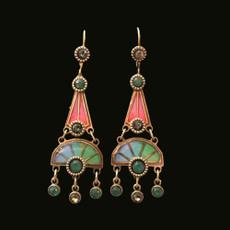 Michal Negrin Heath French Earrings