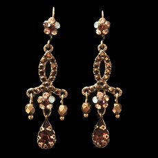 Michal Negrin Sylvie Wire Earrings