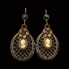 Michal Negrin Victorian Earrings
