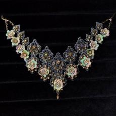 Michal Negrin Crystallized Garden Necklace