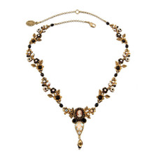 Michal Negrin Exquisite Cameo Necklace