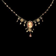 Michal Negrin Blossom Bellflower Necklace