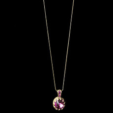 Michal Negrin Shimmering Circle Necklace