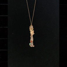 Michal Negrin Initial I Necklace
