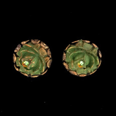 Michal Negrin Holiday Flower Post Earrings