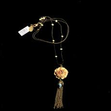 Michal Negrin Rose Flower Necklace