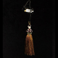 Michal Negrin Ballerina Tassel Necklace