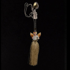 Michal Negrin Angel Tassel Necklace