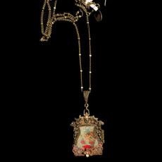 Michal Negrin Spiritual Kabbalah Locket Necklace