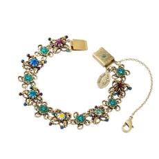 Michal Negrin Border Flower Bracelet