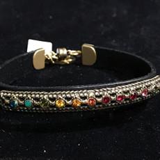 Michal Negrin Gotham Leather Bracelet