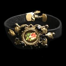 Michal Negrin Shimmering Flower Bracelet
