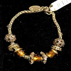Michal Negrin Joy Charm Swarovski Crystal Bracelet