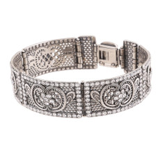 Michal Negrin Mumbai Silver Bracelet
