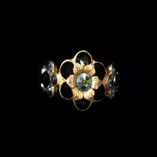 Michal Negrin Midnight Express Gold  Ring