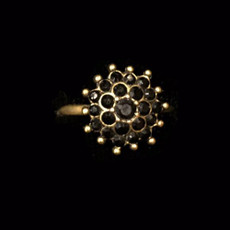 Michal Negrin Simple Sally Adjustable Ring