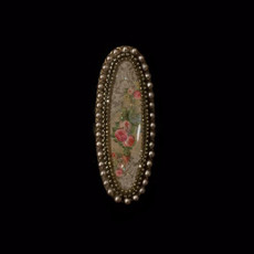Michal Negrin Lona Oval Flower Ring