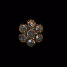Michal Negrin Clear Crystal Ring
