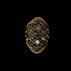 Michal Negrin Desire Adjustable Ring