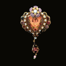 Michal Negrin Everlasting Heart Brooch