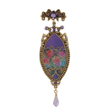 Michal Negrin First Sight Flowers Brooch