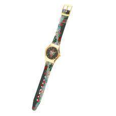 Michal Negrin Vintage Style Swarovski Crystal Special Hand Watch