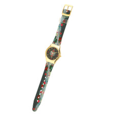 Michal Negrin Vintage Style Swarovski Crystal Special Hand Watch