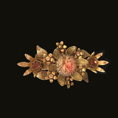 Michal Negrin Lace Hair Jeweled Clip Brooch