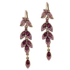 Michal Negrin Bernard Swarovski Crystals Earrings