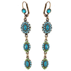 Michal Negrin Leah Swarovski Crystals Earrings