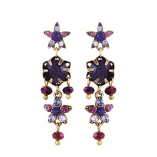 Michal Negrin Ingrid Stud Earrings