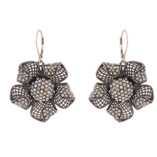 Michal Negrin Bruxelles Silver 925 Dangle Earrings
