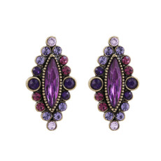 Michal Negrin Bella Post Earrings