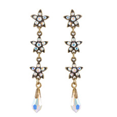Michal Negrin Gisele Crystal Earrings