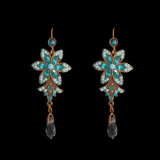 Michal Negrin Big Flower Earrings